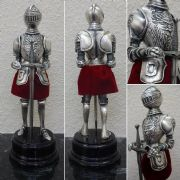 Miniature Spanish Knight In Armour With Sword